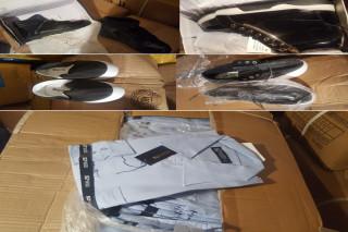 ADJUDECAT - Stoc de marfă 5.928 baxuri/baloti îmbrăcăminte/încălțăminte